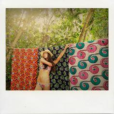 Behind the Scenes: Malia for Bikini Bird & Saffron James