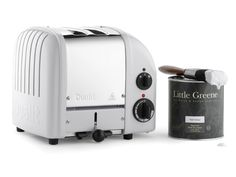 Pearl Colour 2 Slot Heritage toasters | Little Greene Heritage Range | Classic Special Editions | Classic Range | Toasters & Kettles | Dualit
