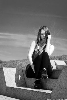 Model: Lauryn (A-Girl #29) / Fotoshooting Hamm / Foto: Allsvartur.de
