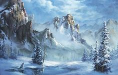 "Do you enjoy painting winter scenes, but when you go to highlight the snow it just get muddy? Watch Kevin's ""Snowy Mountain"" video and learn different techniques on painting snow highlights over wet paint! For more information on full length DVD lessons, please visit: www.paintwithkevin.com"