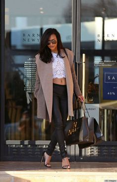 / / . Naya Rivera... - Celebrity Street Style