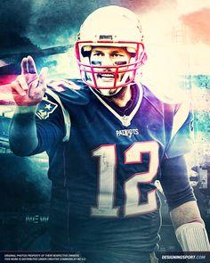 Designing Sport — Tom Brady, New England Patriots — 'True Patriots,...