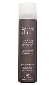 Alterna - Bamboo Style Cleanse Extend Translucent Dry Shampoo (150ml): Amazon.co.uk: Health & Personal Care £20