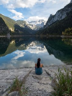 Gosausee - ein perfekter Platz zum Verweilen - smilesfromabroad Vienna Austria, Aktiv, Mountains, World, Nature, Travelling, Beautiful, Country Living, Naturaleza