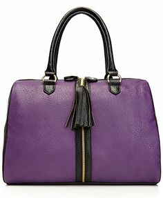 Steve Madden Bclare Satchel - I do LOVE the color purple