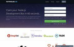 nitrous.io #nitrous 개발환경계의 구글독스라고 불릴만하다.