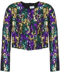 ShopStyle: Vintage Collection Sequin Jacket