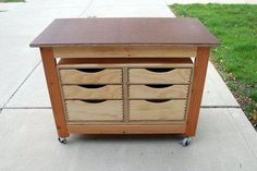 Tool storage cart Project by RPhillips on Lumberjocks.