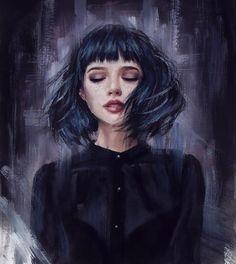 Ideas Anime Art Watercolor Paintings For 2019 Dibujos Tumblr A Color, Foto 3d, Art Watercolor, Digital Art Girl, Anime Art Girl, Portrait Art, Cute Drawings, Female Art, Character Art