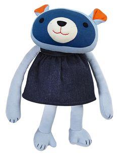 Franck & Fischer Kaya Raccoon Cuddly Toy – Certified Organic Cotton, play toy best-friend.