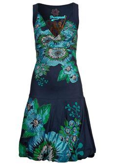 "from the designer Desigual... it's called ""OSTITU - Robe d'été - bleu"""
