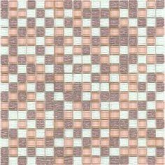 Elida Ceramica�Palladium Glass Mosaic Square Wall Tile (Common: 12-in x 12-in; Actual: 11.75-in x 11.75-in)