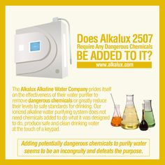 Does Alkalux 2507 Require Any Dangerous Chemicals be Added to It? | Visit our official website for more info: http://www.alkalux.com/