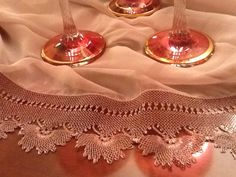 This Pin was discovered by Nur Needle Lace, Lace Making, Baby Booties, Knots, Weaving, Holiday Decor, How To Make, Turkey, Lace