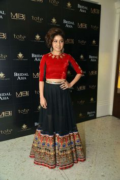 Sunidhi Chauhan at Bridal Asia preview. #Bollywood #Fashion #Style #Beauty
