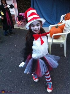 Cat In The Hat Costume Homemade