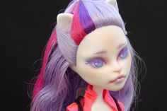 Monster High Catrine Demew Repaint by Saberino on Etsy