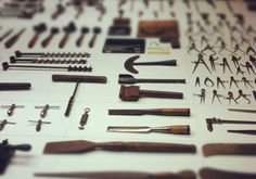 Old Woods-Crafting Tools for a ship. these are stunning.