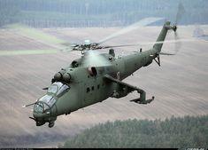 Polish Army Mil Mi-24D