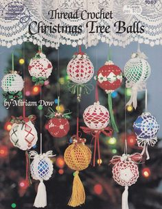 Christmas Ornament Crochet Patterns -