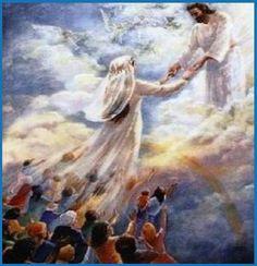 The Bride of Christ - is His Church on earth now. Cristo viene a buscar a su novia.