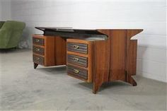 Mid Century modern Italian design desk