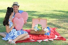 S's picnic wedding by Pod & Pea.  Photo by Figtree Pictures.
