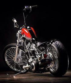 Motorcycle, chopper