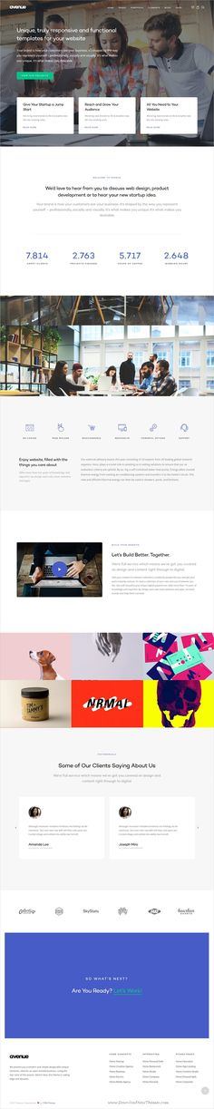 Avenue is clean and modern design multipurpose responsive #WordPress theme for #digital #agency website with 30+ niche homepage layouts download now..