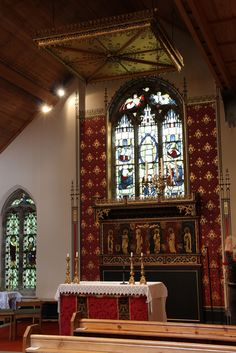 Cantley, South Yorkshire  St Wilfrid's Cantley, restored and furnished between 1892 and 1894 by Sir Ninian Comper.