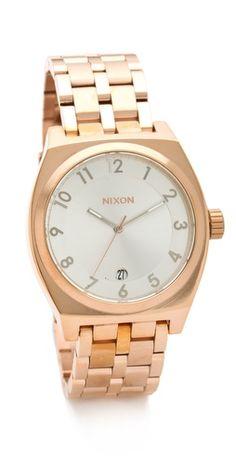 Nixon Monopoly Watch // want!