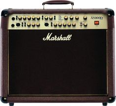 Marshall AS100D Acoustic Guitar Amplifier. It has 4 channels and 2 of them have Mic/XLR inputs with phantom power. It usually sells with a street price of just under $700.
