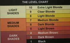 Colour levels