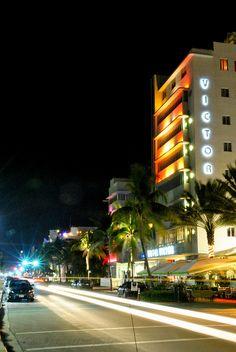 Ocean Drive, Miami Beach - The Victor