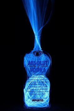 iPhone wallpaper - Miscellaneous - Absolut Vodka Bottle