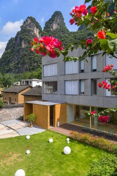 Situated amid the mountainous landscape of Yangshuo in China, architecture studio Fabersociety has designed a new boutique hotel called the 'GEEMU Resort'. The project sees the transformation of an existing structure to create a welcoming and child-friendly space. The architect has also strived to form a building that resonates with the community by exploring the local culture of the burgeoning area. China Architecture, Child Friendly, The Locals, Exploring, Community, Culture, Boutique, Landscape, Space