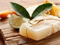 10 Natural Homemade Shampoo Bar Recipes for DIYers Wanting Beautiful Hair How To Make Shampoo, Diy Shampoo, Homemade Shampoo, Shampoo Bar, Soap Melt And Pour, Lemon Soap, Tea Powder, Natural Shampoo, Soap Recipes