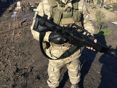 Turkish soldier with new MPT-76