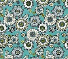 Painted_Petals by anderson_lee  (Spoonflower.com)