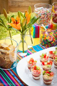 Mexican Fiesta Party - Styled by Bindy & Co. Seven Layer Dip