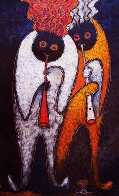 Перуанский художник Jose De la Barra