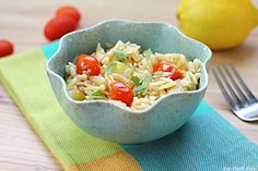 Summer Lemon Orzo - Eat. Drink. Love.