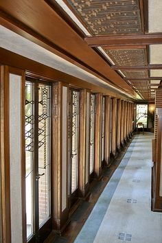 Robie House. Frank Lloyd Wright. Prairie Style. Chicago. 1910