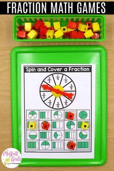 3rd Grade Math: Fractions