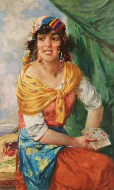 ☆ The Fortune Teller :→: Artist Withalm ☆ Gypsy Life, Gypsy Soul, Gypsy Chic, Divine Tarot, Gypsy Fortune Teller, Gypsy Women, Gypsy Witch, Vintage Gypsy, Season Of The Witch