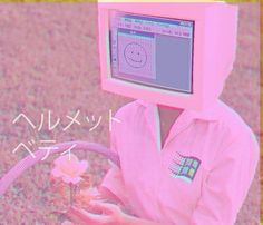 Weird question: i really like the aesthetics of vaporwave, but specifically the pinkish, more lighthearted absurdist sort of images (as shown) instead of Aesthetic Fonts, Aesthetic Grunge, Aesthetic Pastel, Pastel Grunge, Pastel Pink, Vintage Pink, Object Heads, Tv Head, Vaporwave Art