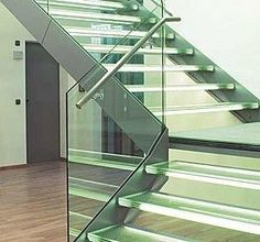 glass stair treads - Google Search
