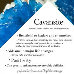 Cavansite crystal meaning