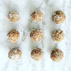 Protein powder energy balls