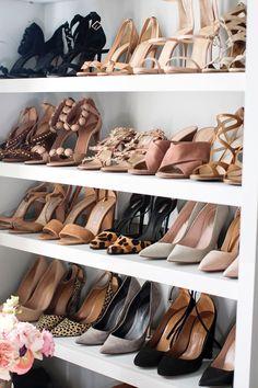 Shoe Shelf  |  pinterest: @Blancazh